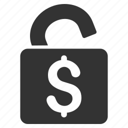 banking, open access, protection, safe lock, safety, security, unlock icon
