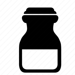 half, jar, milk, pot, water icon