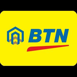 bank, btn, indonesian, negara, tabungan icon