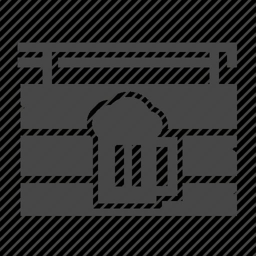 bar, label icon