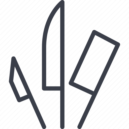 barbecue, cooking, fire, forks, grill, knives for barbecue, steak icon