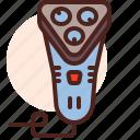 beard, device, haircut, hairdress, hipster, shaving icon