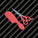 barber, comb, cut, hair, scissors, stylist, trim