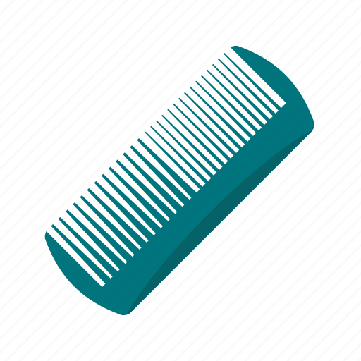 beauty, comb, fashion, hair, hairdresser, plastic, thin icon