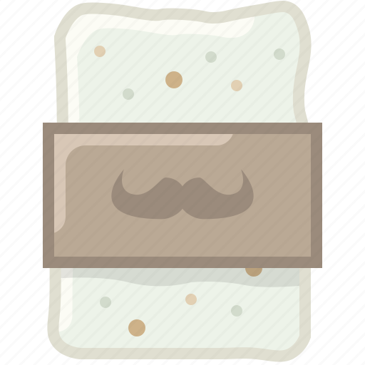 barber, cleaning, foam, shaving, soap, soaping, yumminky icon