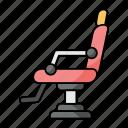 barber, barbershop, chair, seat, hydraulic, salon chair