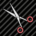 scissor, barber, haircut, sharp, tool