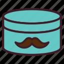 barbershop, handlebar moustache, moustache, moustache product, mustache, mustache cream icon
