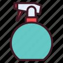 barbershop, hairdresser, hairspray, hairstyle, salon, spray icon