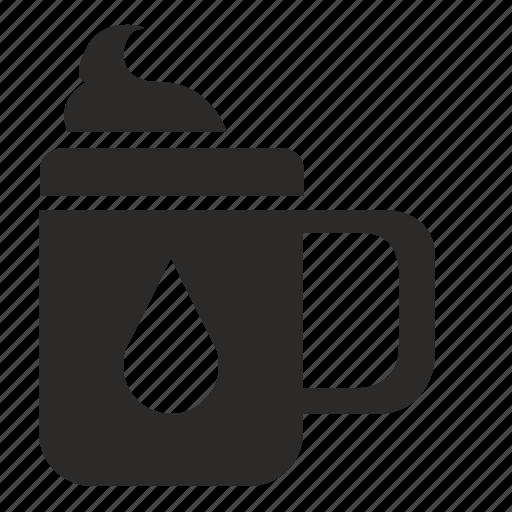 barista, coffee, cream, cup, drink, hot icon