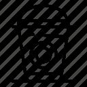 business, coffee, food, glass, logo, plastic, silhouette
