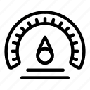 barometer, car, logo, measurement, meter, speed, speedometer icon