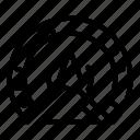 barometer, car, dashboard, internet, logo, technology, water icon
