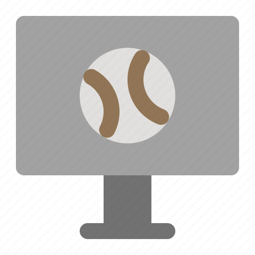 baseball, game, live, match, online, sports icon