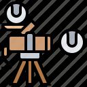baseball, batter, machines, pitching, practice icon