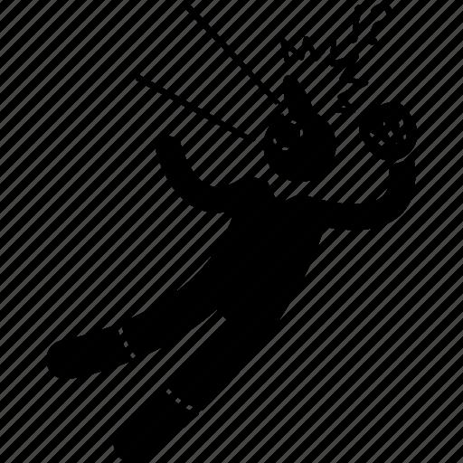 baseball, player, playing icon
