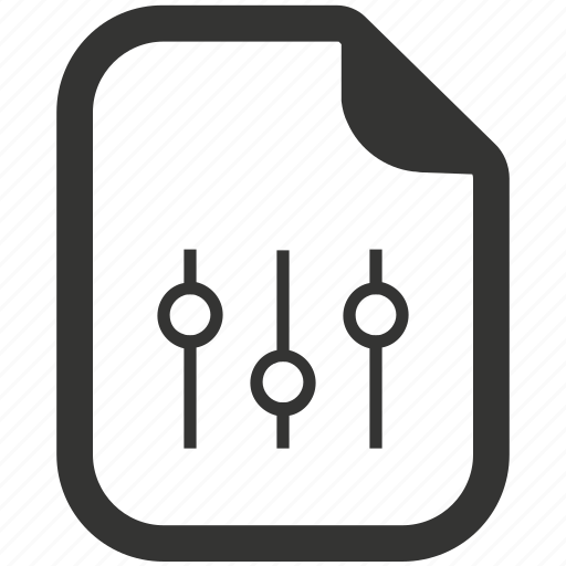 Arrange, document, file, setting icon - Download on Iconfinder