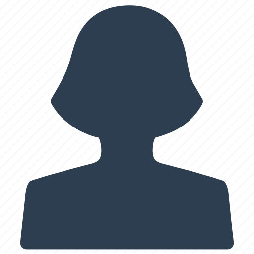 Account, female, profile, user, woman icon - Download on Iconfinder