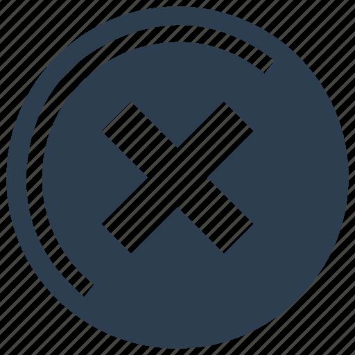 Cross, delete, exit, no, remove icon - Download on Iconfinder