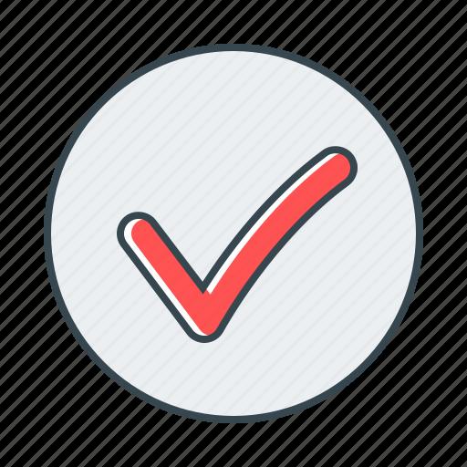 check, checkmark, done, sign icon