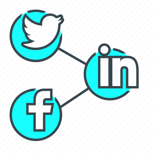 communication, connection, internet, network, share, social, social media icon
