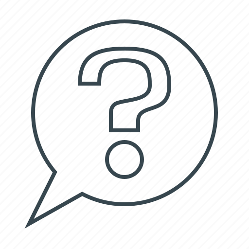 ask, question, question mark, sign icon