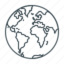 earth, global, globe, map, planet icon