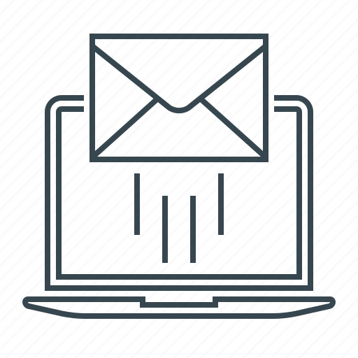 emailer, envelope, inbox, letter, mail, mailbox, message icon