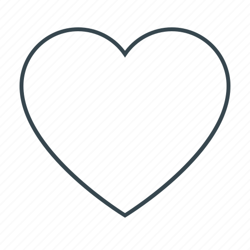 favorite, heart, like, love, sign icon