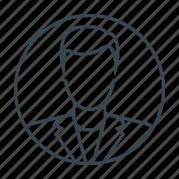 account, avatar, boy, man, profile, user icon