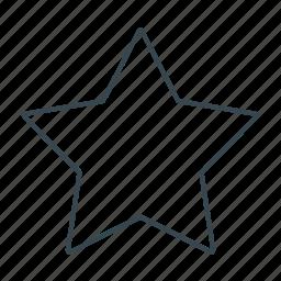 award, favorite, favorites, sign, star icon