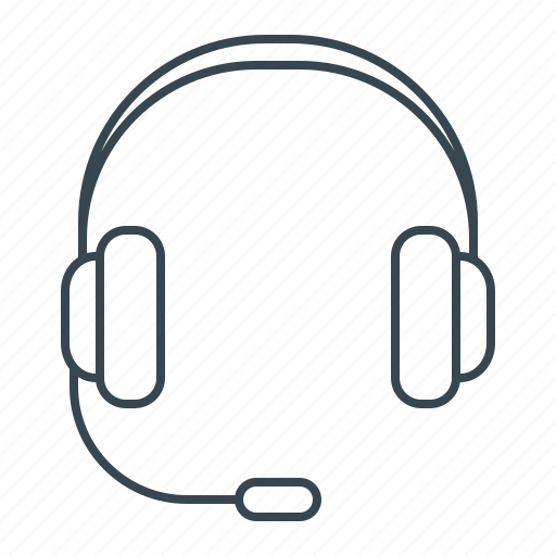 call, communication, headphone, headphones, service, support icon