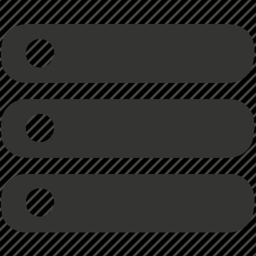 hosting, server, storage icon