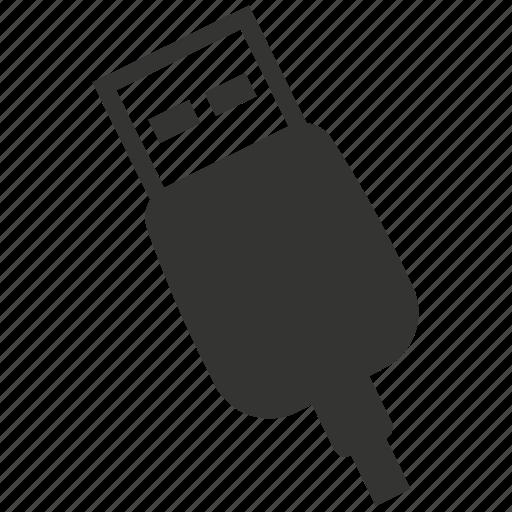connector, plug, usb icon