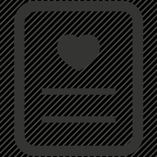 Favorite, list, wishlist icon - Download on Iconfinder