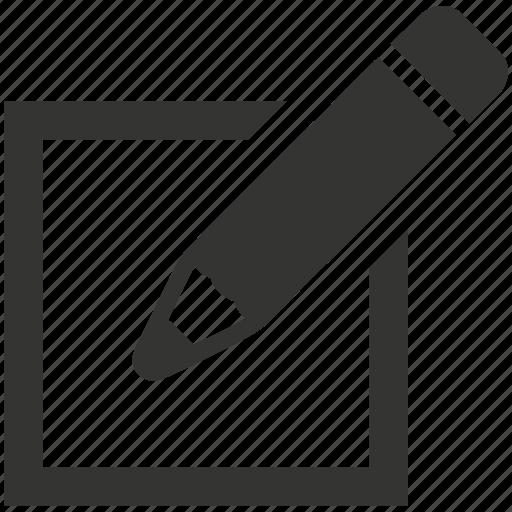 edit, note, write icon