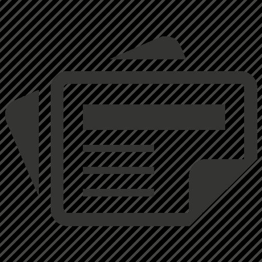 News, newspaper, press icon - Download on Iconfinder