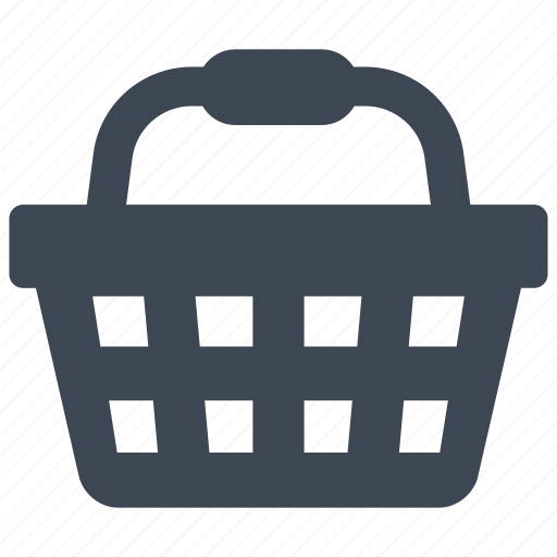basket, groceries, shopping icon
