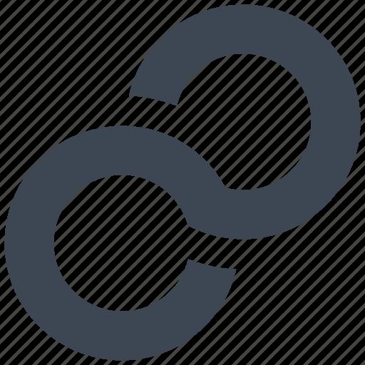 hyper, link, web icon