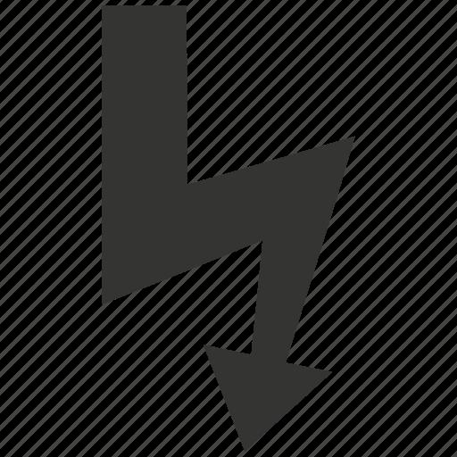 Lightning, storm, thunderstorm icon - Download on Iconfinder
