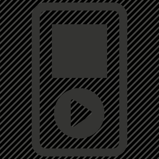 ipod, music, player icon