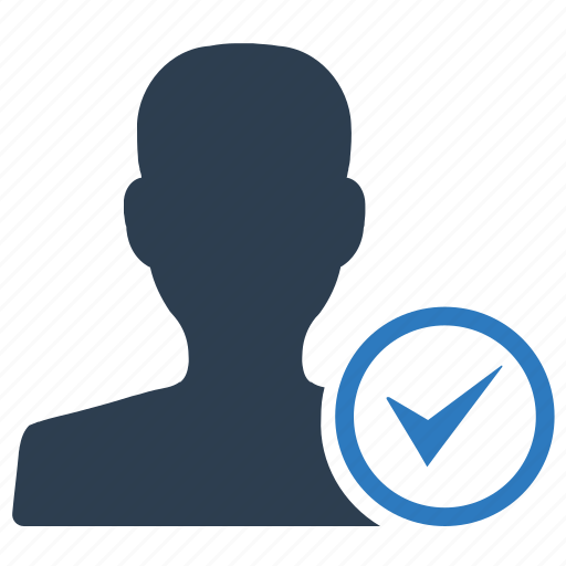 account, profile, successful, verified icon