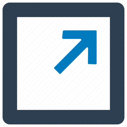 expand, fullscreen, maximize, resize icon