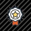 award, badge, medal, prize, reward, winner