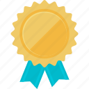 awards, badge, business, success, vignette icon