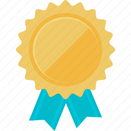 awards, badge, business, flat design, success, vignette icon
