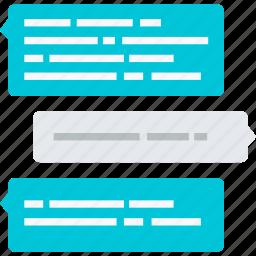 chat, communication, flat design, internet, message, online, social media icon