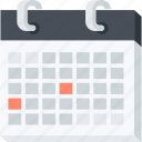 calendar, celebration, events, flat design, holiday, organizer, schedule icon