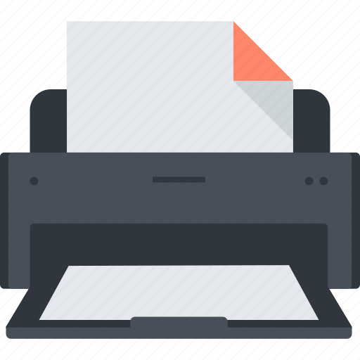 business, device, document, office, print, printer icon