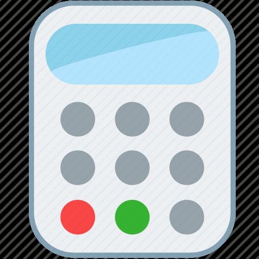 bank, calculator, emi, investment, loan, marketing, math icon